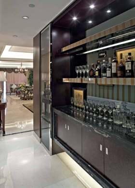 2016现代质感新古典酒柜设计