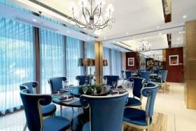 新古典时尚餐厅装修案例