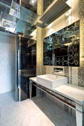典雅大气新古典风格卫生间装修布置