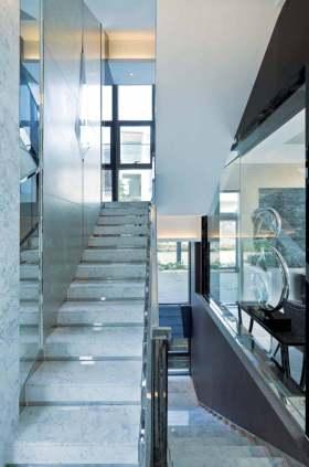 精致现代风格楼梯整体设计欣赏