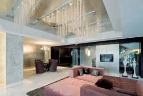 优雅时尚现代风格客厅浪漫装潢