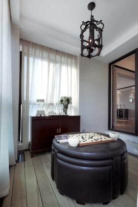 新古典主义休闲茶室设计布置