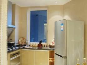 清新优雅简欧风格厨房装修效果图