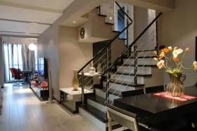 时尚大气现代风格楼梯整体设计展示