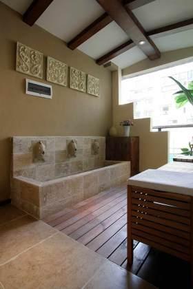 休闲古典美式阳台精美设计