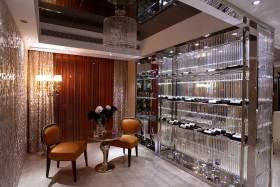 高端华美简欧风格酒柜设计展示