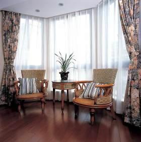 2016复古东南亚风格窗帘欣赏