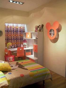 创意装饰简约风格儿童房装修效果