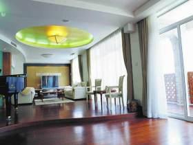 简约时尚混搭风格客厅整体装修展示