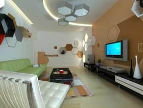 创意设计时尚现代风格客厅装潢