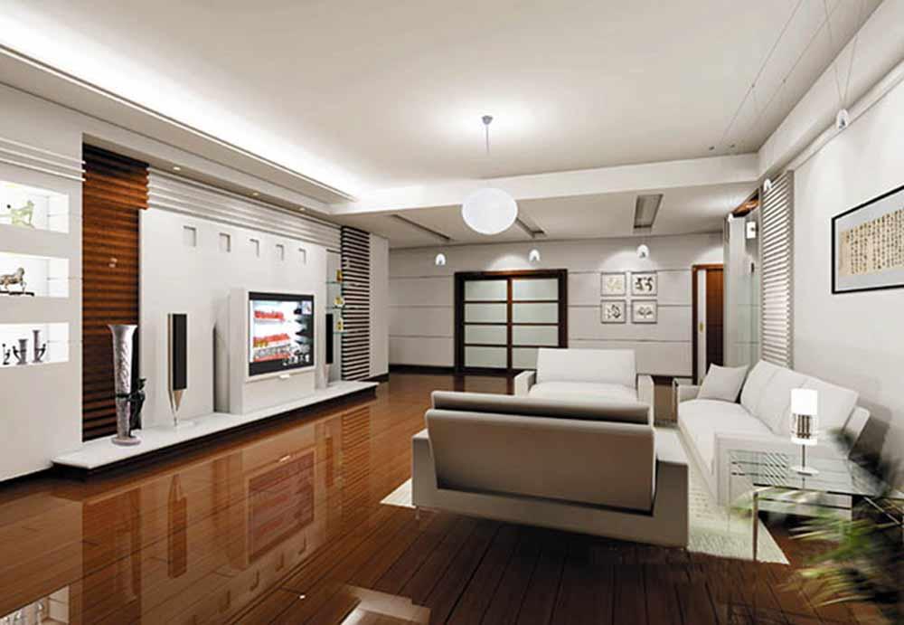 休闲舒适现代风格客厅装修效果图片