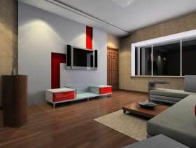 优雅时尚现代风格电视背景墙设计展示