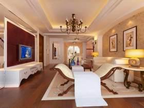 欧式简约时尚客厅设计