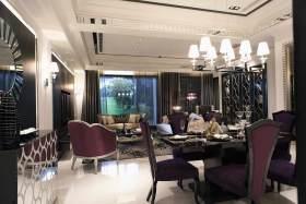 浪漫唯美简欧风格餐厅设计美图