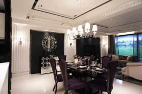 浪漫温馨欧式餐厅整体效果