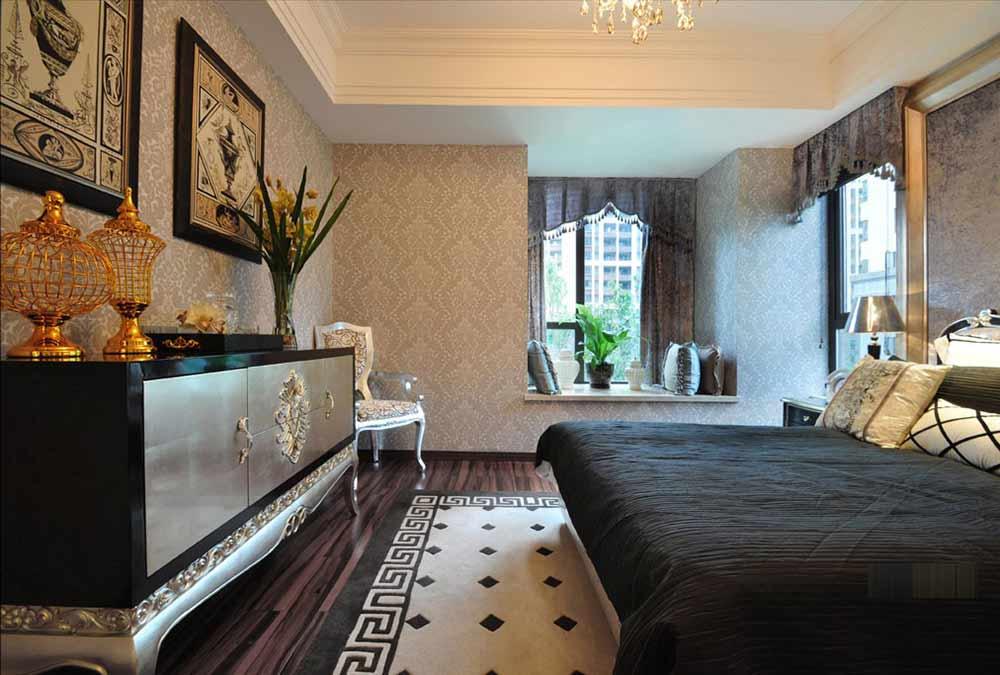时尚浪漫欧式风格卧室装潢
