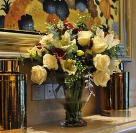 温馨浪漫时尚欧式鲜花装饰设计