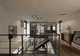 重金属美式风格楼梯设计展示