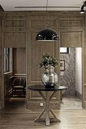 创意时尚原木现代风格局部装修展示