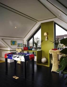 创意复古风格简欧设计阁楼展示