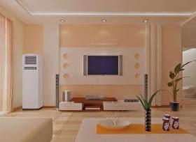 粉色时尚现代客厅装修装潢