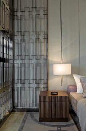 现代简洁时尚床头柜布置欣赏