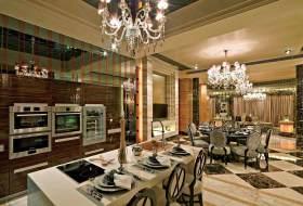 新古典简洁开放式厨房设计