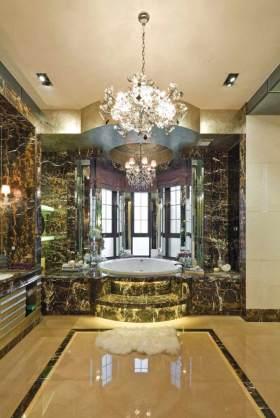 新古典华丽质感卫生间装潢
