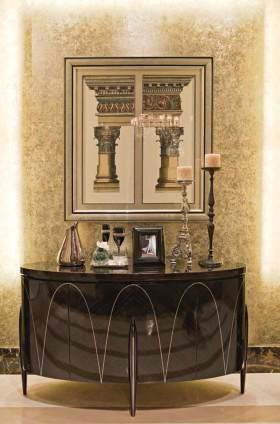 2016美式新古典收纳展示柜布置欣赏