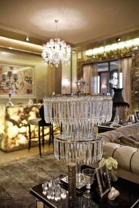 新古典雅致时尚客厅装饰装修案例