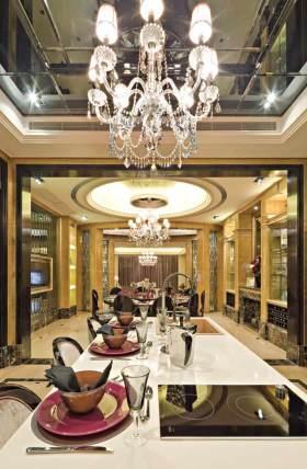 2016新古典时尚厨房吧台规划设计欣赏