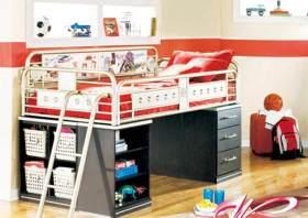 现代时尚儿童房装修案例