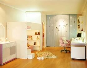 现代简洁儿童房布置欣赏