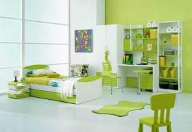 现代清新儿童房装修效果图