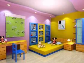 现代时尚儿童房装修效果图