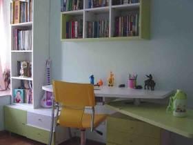 现代舒适书房装修效果图