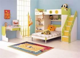 现代简洁时尚儿童房装潢