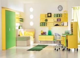 现代休闲舒适儿童房装修案例