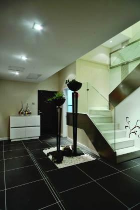 现代雅致楼梯装修案例