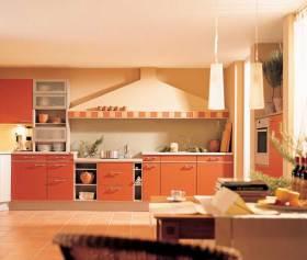 现代时尚厨房装潢设计