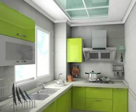 现代时尚清新厨房