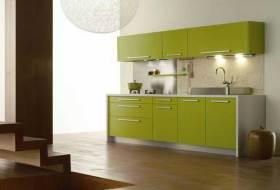 现代质朴厨房装修效果图