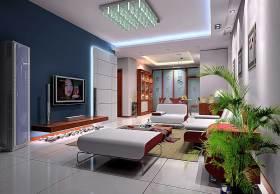 现代时尚质感客厅装修案例欣赏