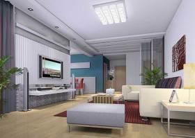 现代简约时尚客厅装修案例