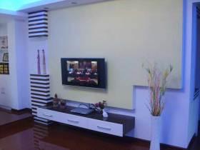 时尚现代电视背景墙装潢