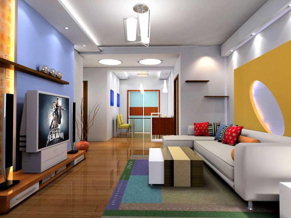 2016清新现代客厅装潢设计