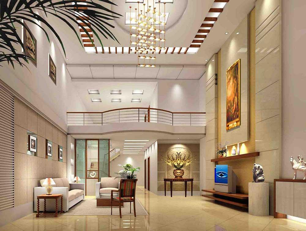 奢华精致大气简欧风格客厅装修图片