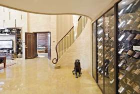奢华大气欧式红酒柜设计