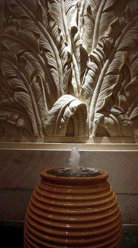 优雅气质新古典风格室内喷泉设计