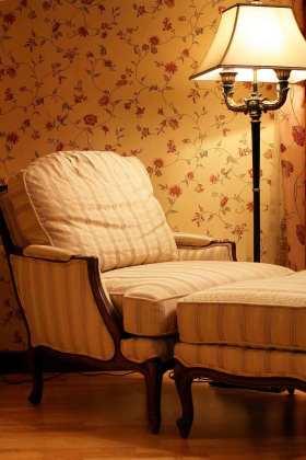 温馨浪漫田园碎花休闲沙发设计